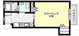ビームIV[203号室]の間取り