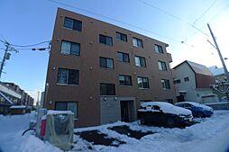 北海道札幌市西区八軒七条東5丁目の賃貸マンションの外観