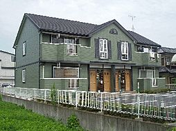 茨城県常陸太田市中城町の賃貸アパートの外観
