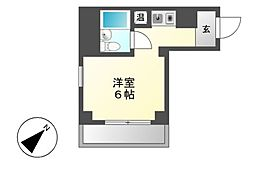 満天星館(ドウダンハイツ)[1階]の間取り