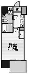 アドバンス大阪ルーチェ[701号室]の間取り