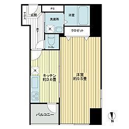 タカシマ両国マンション[9階]の間取り