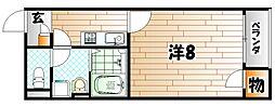 レオネクストTN K15[1階]の間取り