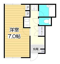 MIUふじみ野[1階]の間取り