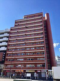 外観(清澄通り沿いに建つ総戸数87戸の大規模分譲マンション。管理体制も良好、しっかりした鉄筋鉄骨コンクリート造)