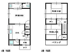 [一戸建] 兵庫県尼崎市崇徳院1丁目 の賃貸【/】の間取り