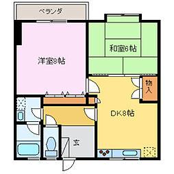 田中ビルII[3階]の間取り