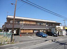 埼玉県川口市南鳩ヶ谷2丁目の賃貸アパートの外観