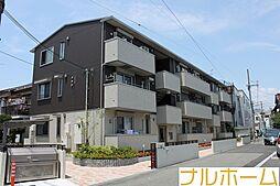 大阪府大阪市平野区喜連3丁目の賃貸アパートの外観