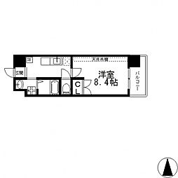 ANIMA−TO南上小阪[401号室号室]の間取り