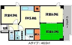 第3東ビル[3階]の間取り