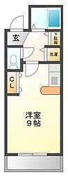 レジデンス甲陽[3階]の間取り