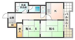 高橋興産ビル[4階]の間取り