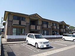 岡山県倉敷市児島田の口7の賃貸アパートの外観