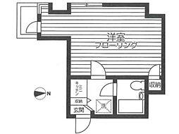 共立リライアンス上野町1[2階]の間取り