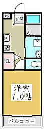 アーバンフォレスト[1階]の間取り
