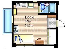 Jファクトリー[D号室号室]の間取り