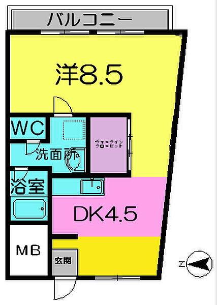 平井マンション[2階]の外観