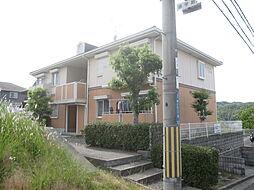 京都府相楽郡精華町桜が丘2の賃貸アパートの外観