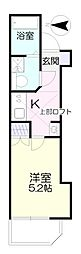 ファブリス生田[1階]の間取り