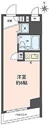 神奈川県横浜市神奈川区子安通2丁目の賃貸マンションの間取り