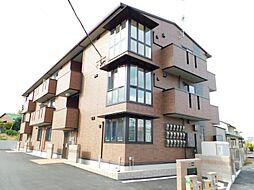 福岡県北九州市小倉南区城野3丁目の賃貸アパートの外観