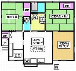 西武池袋線 椎名町駅 徒歩8分の賃貸アパート 1階3LDKの間取り