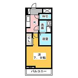 (仮)中田1丁目新築[2階]の間取り