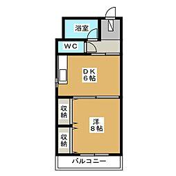 第一正美堂ビル[7階]の間取り