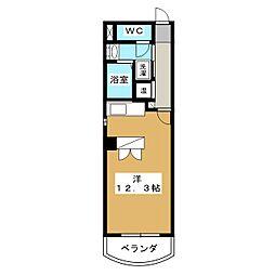 COSMO V[3階]の間取り