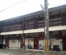 京都府長岡京市今里5丁目の賃貸アパートの外観