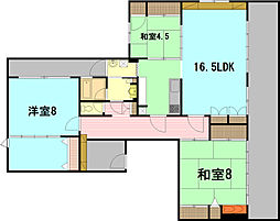 パークコートS1[8階]の外観