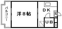 アイ&ユウ壱番館[2階]の間取り