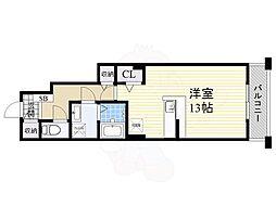 泉北高速鉄道 和泉中央駅 徒歩10分の賃貸アパート 1階ワンルームの間取り
