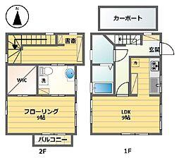 [一戸建] 東京都世田谷区桜上水2丁目 の賃貸【/】の間取り