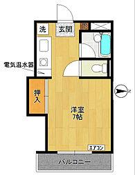 CRISAU MS-クリソ マンション-[2階]の間取り