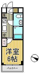 アゼリア鎌倉[205号室]の間取り