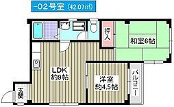 グランドメゾン千島[4階]の間取り