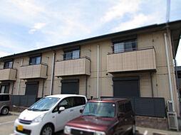 兵庫県姫路市飾磨区若宮町の賃貸アパートの外観