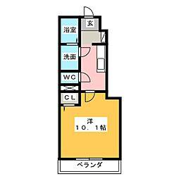 Y's square93[1階]の間取り