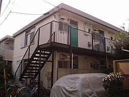 神奈川県横浜市鶴見区市場上町の賃貸アパートの外観