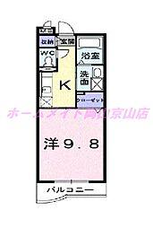ハーモニー21[1階]の間取り