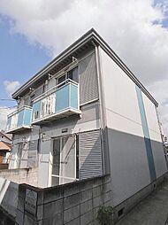 埼玉県志木市上宗岡4丁目の賃貸アパートの外観