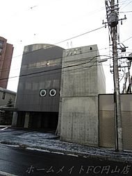 北海道札幌市中央区宮の森二条7丁目の賃貸マンションの外観