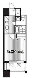 プラウドフラット新大阪[2階]の間取り