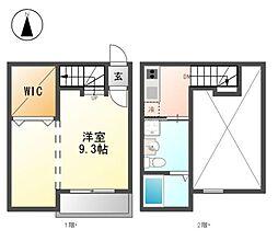 熱田スカイタワー31F[2階]の間取り