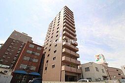 岡山県岡山市北区大供3丁目の賃貸マンションの外観