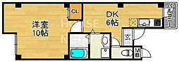 SUEGA (スーガ)HU 京阪五条[2F号室号室]の間取り