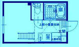 プライムテラス中野島[1階]の間取り