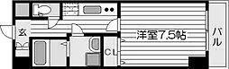 アスヴェル梅田WEST[9階]の間取り